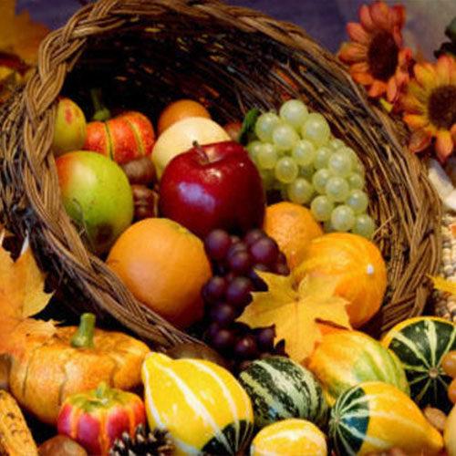 la zucca e altre verdure dell'autunno